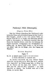 Papyrus Prisse: Ptahhoteps Ethik (Sittenregeln)