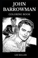 John Barrowman Coloring Book