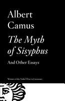 The Myth of Sisyphus And Other Essays PDF