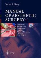 Manual of Aesthetic Surgery 1 PDF