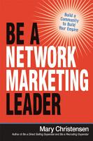 Be a Network Marketing Leader PDF