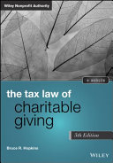 Tax Law of Charitable Giving
