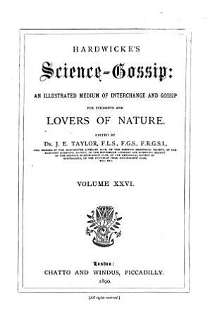 Hardwicke s Science gossip PDF