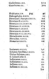 Theatrum Caesareum historico-poeticum: quo omnium & singulorum Rom. Imperatorum, cum Icones ex antiquis numismatibus expressae, tum vitae quam brevissimè descriptae, ... continentur