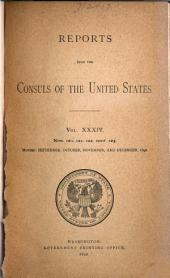 Reports from the Consuls of the United States: Issues 120-132