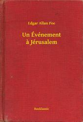 Un Événement a Jérusalem