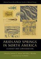 Aridland Springs in North America PDF