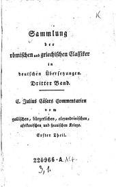 C. Julius Cäsars Commentarien vom gallischen Kriege: 3,1