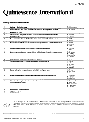 Quintessence International PDF