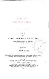 Flores Historiarum: Issue 95, Volume 2