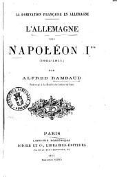 L'allemagne sous Napoleon