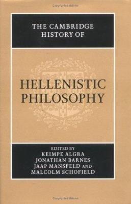 The Cambridge History of Hellenistic Philosophy PDF