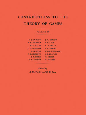Contributions to the Theory of Games PDF