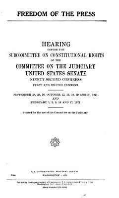 Freedom of the Press PDF