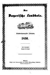 Der Bayerische Landbote: 1850