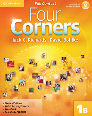 Four Corners Level 1 Full Contact B with Self study CD ROM PDF