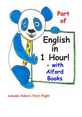 English in 1 Hour! - Lessons 2 & 3: Robin's First Flight, Greet, Meet & About Me