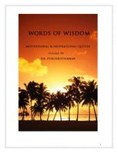 Words of Wisdom (Volume 34): 1001 Quotes & Quotations