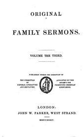 Original family sermons