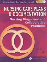 Nursing Care Plans and Documentation PDF