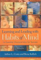 Learning and Leading with Habits of Mind PDF