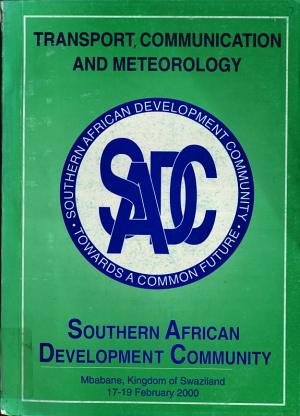 Southern African Development Community  2000 Consultative Conference Publications    Transport and communications PDF