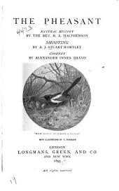 The Pheasant: Natural History