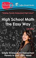 High School Math the Easy Way PDF