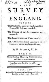 A new survey of England