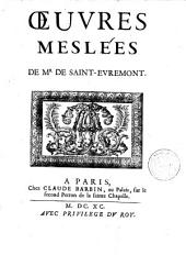 Oeuvres meslées: Volumes1à2
