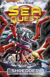 Shredder the Spider Droid: Book 5