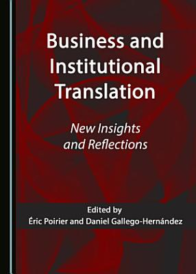 Business and Institutional Translation PDF
