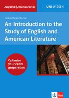 An Introduction to the Study of English and American Literature PDF