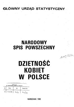 Narodowy spis powszechny PDF