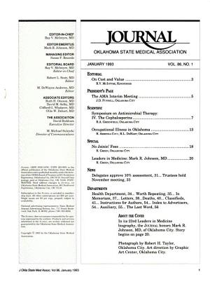 The Journal of the Oklahoma State Medical Association PDF