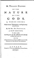 Of the Nature of the Gods PDF