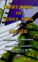 Research Method and Technical Wrtng in Agriculture