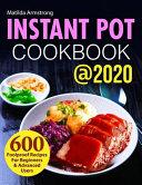 Instant Pot Cookbook  2020