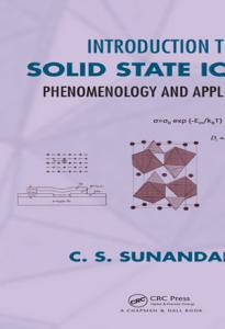 Introduction to Solid State Ionics PDF