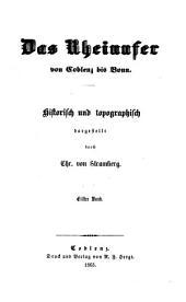 """""""Das"""" Rheinufer von Coblenz bis Bonn; 11. Band: Mittelrhein : 311"""