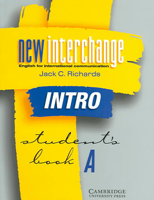 New Interchange Intro Student s Book A PDF