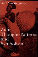 Zulu Thought patterns and Symbolism PDF
