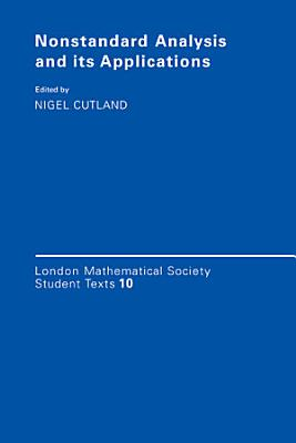 Nonstandard Analysis and Its Applications PDF