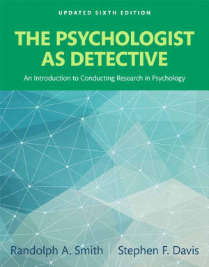 The Psychologist as Detective PDF