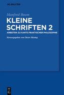 Kleine Schriften II PDF