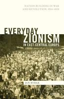Everyday Zionism in East Central Europe PDF