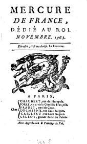 Mercure de France: 1763, 11