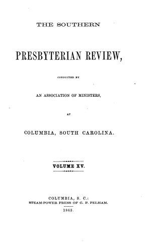 Southern Presbyterian Review