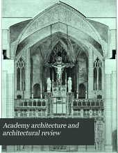 Academy Architecture and Architectural Review: Volume 27