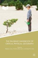 The Palgrave Handbook of Critical Physical Geography PDF
